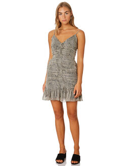 MOSSY SNAKE WOMENS CLOTHING THE EAST ORDER DRESSES - EO191027DMOSS