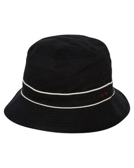 BLACK MENS ACCESSORIES GLOBE HEADWEAR - GB71919007BLK