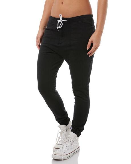 BLACK WOMENS CLOTHING RUSTY PANTS - PAL1041BLK