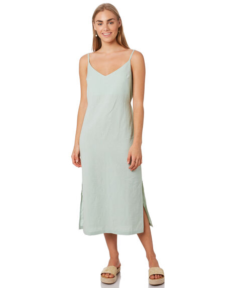 MOSS GREY WOMENS CLOTHING SWELL DRESSES - S8202454MOSS