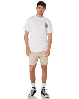FEATHER GREY MENS CLOTHING RUSTY SHORTS - WKM0758FTG