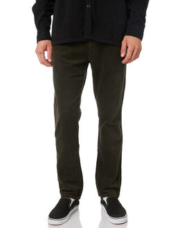 DARK KHAKI MENS CLOTHING RUSTY PANTS - PAM0942DKA