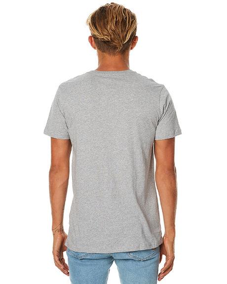 GREY MARLE MENS CLOTHING GLOBE TEES - GB00931022GRY