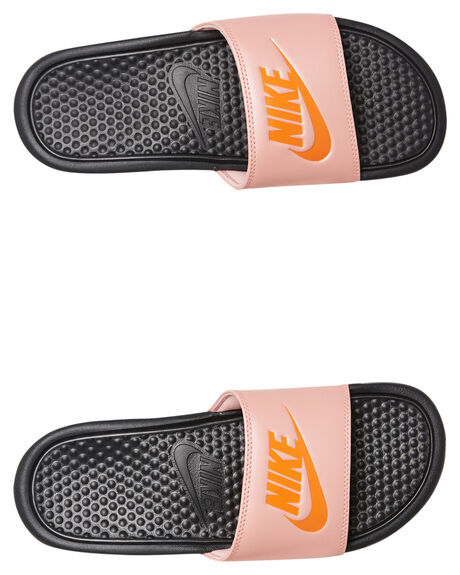 BLACK STARFISH WOMENS FOOTWEAR NIKE SLIDES - 343881-013