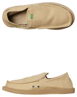 TAN MENS FOOTWEAR SANUK SLIP ONS - SMF1032TAN