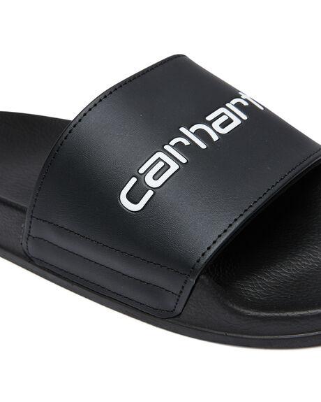 BLACK WHITE MENS FOOTWEAR CARHARTT THONGS - I02779589