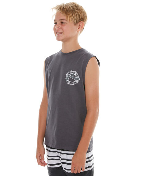 COAL KIDS BOYS RUSTY SINGLETS - MSB0084COA