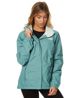 TRELLIS GREEN WOMENS CLOTHING THE NORTH FACE JACKETS - NF0A2VCUPKF