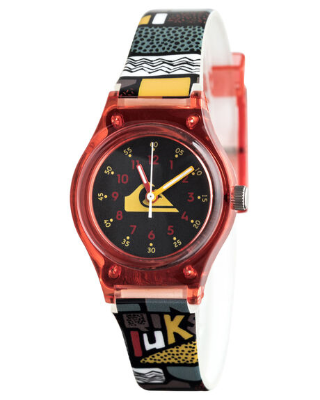RED/BLACK KIDS BOYS QUIKSILVER WATCHES - EQBWA03002-XRRK