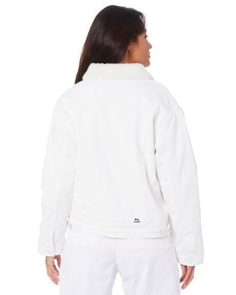 WHITE WOMENS CLOTHING MISFIT JACKETS - MT105703WHT