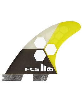 YELLOW BOARDSPORTS SURF FCS FINS - FAMS-PC02-TS-RYELL1