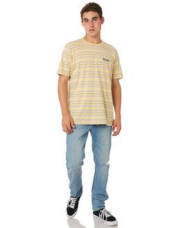 BROKEN INDIGO MENS CLOTHING WRANGLER JEANS - W-901358-GC7BRKIN