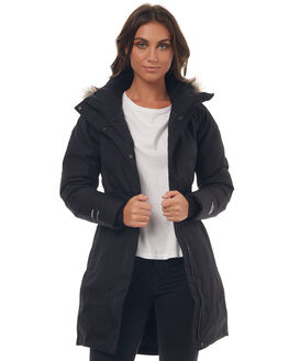 BLACK WOMENS CLOTHING THE NORTH FACE JACKETS - NF0A35BQJK3BLK