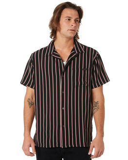 BLACK OUTLET MENS MISFIT SHIRTS - MT091403BLACK
