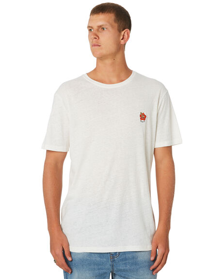 WHITE MENS CLOTHING RUSTY TEES - TTM2248WH1