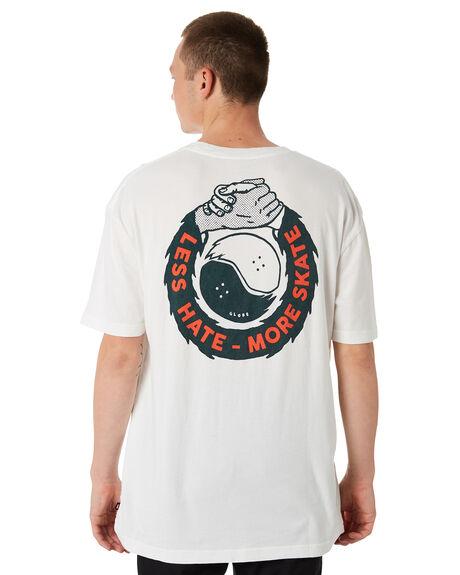 BLANC MENS CLOTHING GLOBE TEES - GB01830005BLC