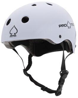 GLOSS WHITE BOARDSPORTS SKATE PRO TEC ACCESSORIES - 1164302GWHT