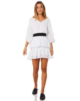 WHITE WOMENS CLOTHING MLM LABEL DRESSES - MLM360AWHT