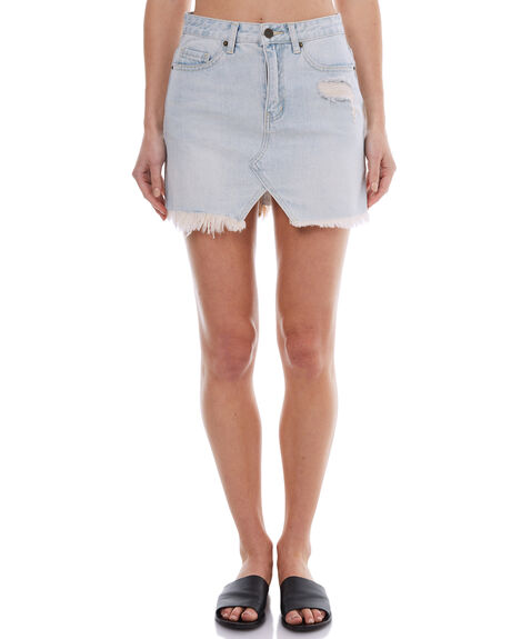 WHITE WASH OUTLET WOMENS THE HIDDEN WAY SKIRTS - H8174470WHW