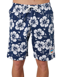 NAVY MENS CLOTHING OKANUI BOARDSHORTS - OKBOHBNVNVY