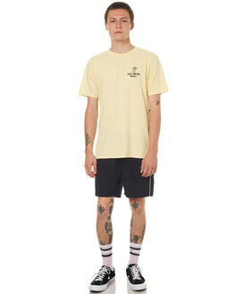 WASHED YELLOW MENS CLOTHING NO NEWS TEES - N5171002WSHYE