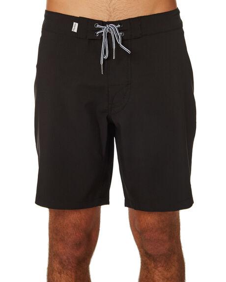 BLACK MENS CLOTHING RHYTHM BOARDSHORTS - JAN19M-TR09-BLK