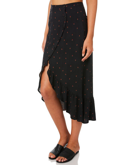BLACK OUTLET WOMENS SWELL SKIRTS - S8184472BLACK