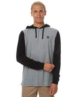 GREY MARLE MENS CLOTHING SWELL TEES - S5174111GRYM