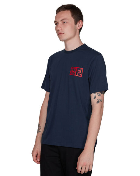 INDIGO MENS CLOTHING ELEMENT TEES - EL-107023-IND