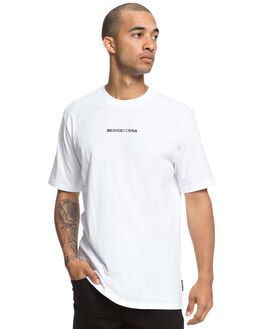 SNOW WHITE MENS CLOTHING DC SHOES TEES - UDYZT03527WBB0