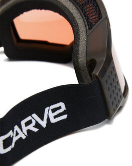 TORT ORANGE BOARDSPORTS SNOW CARVE GOGGLES - 6096TORT