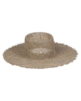 SEAGRASS WOMENS ACCESSORIES LACK OF COLOR HEADWEAR - SUNNYFRAYBOAT1SEA