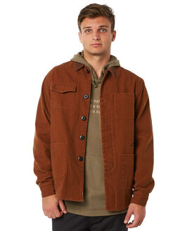 ALMOND MENS CLOTHING RHYTHM JACKETS - JUL18M-JK03ALM