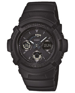 BLACK MENS ACCESSORIES G SHOCK WATCHES - AW591BB-1ABLK