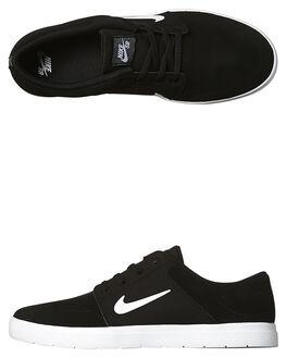BLACK WHITE MENS FOOTWEAR NIKE SNEAKERS - SS855973-010M