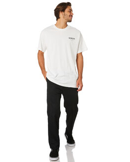 DIRTY WHITE MENS CLOTHING THRILLS TEES - TS8-108ADWHI