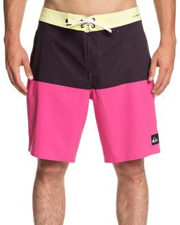 YELLOW IRIS MENS CLOTHING QUIKSILVER BOARDSHORTS - EQYBS04106-YZJ0