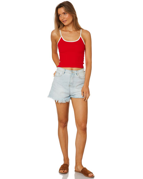 RED OUTLET WOMENS ALL ABOUT EVE SINGLETS - 6405045RED