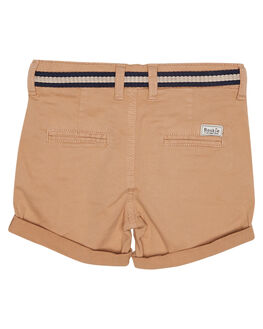 COFFEE KIDS TODDLER BOYS ROOKIE BY THE ACADEMY BRAND SHORTS - R19S613COF