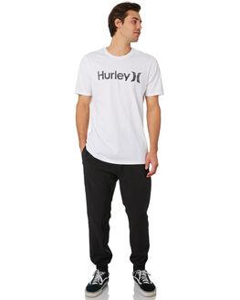 BLACK MENS CLOTHING HURLEY PANTS - MPT0000670010