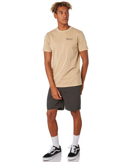 KHAKI MENS CLOTHING RIP CURL TEES - CTEVO20064