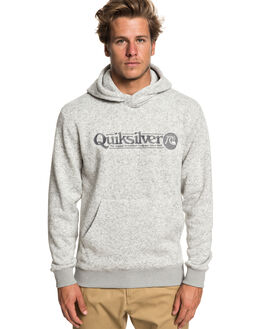 LIGHT GREY HEATHER MENS CLOTHING QUIKSILVER JUMPERS - EQYFT03964-SJSH