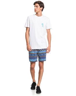 WHITE MENS CLOTHING QUIKSILVER TEES - EQYZT05821-WBB0