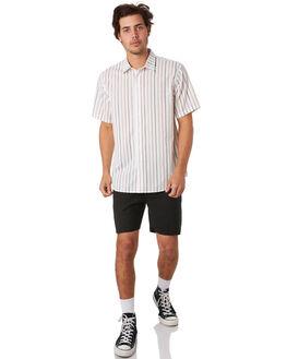 BLACK MENS CLOTHING THRILLS SHORTS - TS9-318BBLK