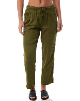 OLIVE OUTLET WOMENS SWELL PANTS - S8182195OLIVE