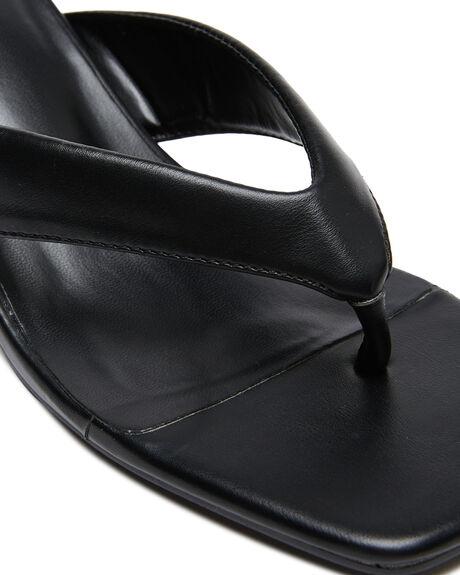BLACK WOMENS FOOTWEAR ST SANA HEELS - ST211S310BLK