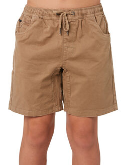 TAN KIDS BOYS SWELL SHORTS - S3161237TAN