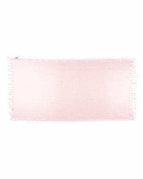 ROSE MIST WOMENS ACCESSORIES BLEM BEACH ACCESSORIES TOWELS - ROSEMISTLUXE