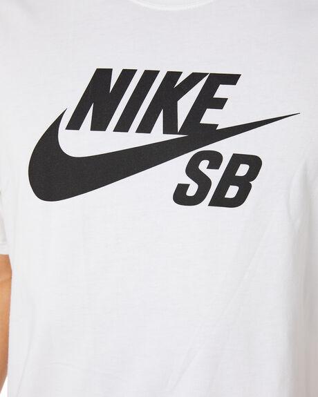WHITE MENS CLOTHING NIKE TEES - CV7539100