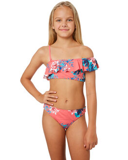 BRUSH PINK SUN CHAS KIDS GIRLS ROXY SWIMWEAR - ERGX203183XMGB